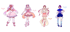 [Closed] Mystery Magical Girl Adopts by silvermilkadopts