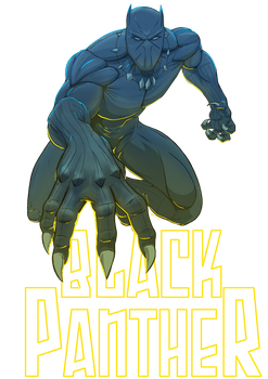Black Panther by Juggertha
