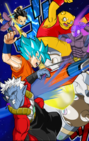 Dragon Ball Heroes Poster by ChronoFz