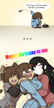 Happy Birthday to me ~ by Val-07