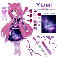 Yumi's Reference by SpeedPaintJayvee12