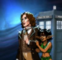 Tao and the 8th Doctor by MarionPoinsot34