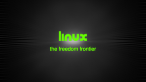 linux (the freedom frontier) by t-dgfx