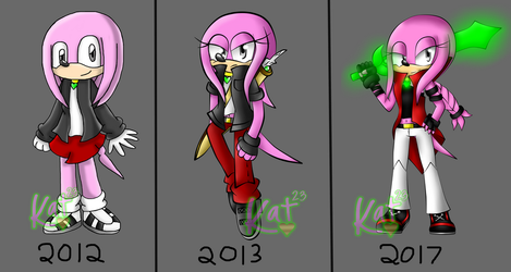 Mikee (and my art's) Evolution by Katrins23