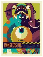 mondo: monsters inc. var by strongstuff