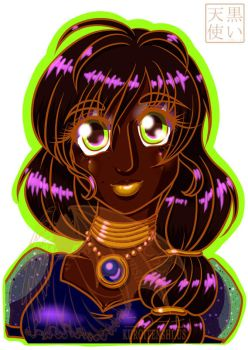 Collector OC Card Purnima by kuroitenshi13