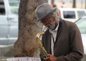Street Sax by passionandsoul