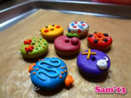 Oven fresh Pokemon donuts