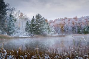 Early Autumn Snow I by redwolf518