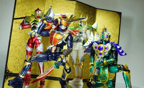 Kamen Rider Gaim Group 02 by Infinitevirtue