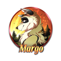 .:WoLF:. Medallion for Margo by Nafsi-chan