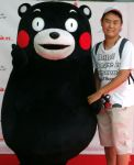 Kumamon and me by yellowmocha