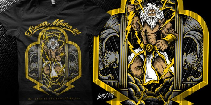 Zeus The Gods of Olympus by wisang7th