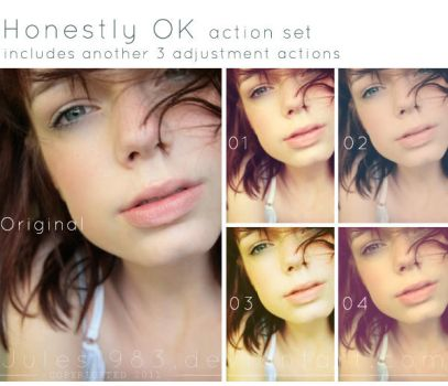 Honestly OK PS Action Set by Jules1983