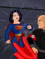Superwoman WWII 1 by Rogelioroman by THE-Darcsyde