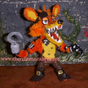 Foxy The Pirate Pipe Cleaner Figure by the-gil-monster
