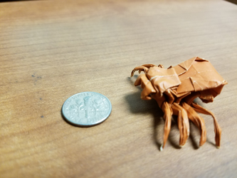 Origami Spider by Origami1105