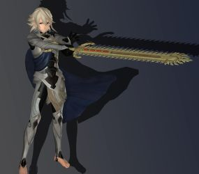 Male Corrin (Fire Emblem Warriors) for XPS/XNALara by RealTRgamer