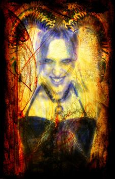 Tease Tarot: The Devil by StellaPrice