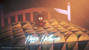 Happy Halloween, FNaF by DS-Productions2
