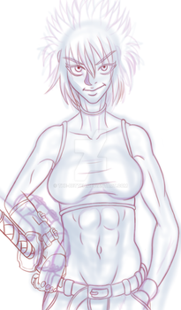 Gundraw Makinoha Wip by The-Betteh