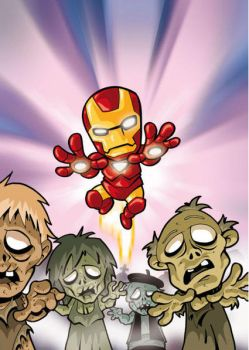 Iron man zombies by victoon