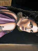 Queen Akasha painting. by Leebea