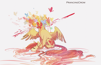 Flutter by PrancingCrow