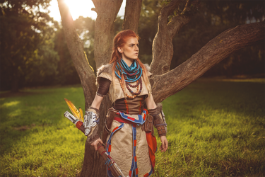 Just Aloy by MsSkunk
