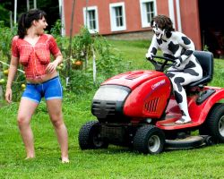 Down on the Farm by BareBeautyBodypaint