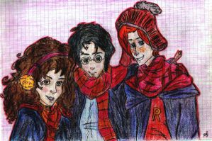 The golden trio by PC9
