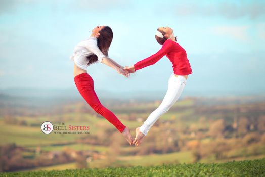 Red Heart Jump by thesashabell