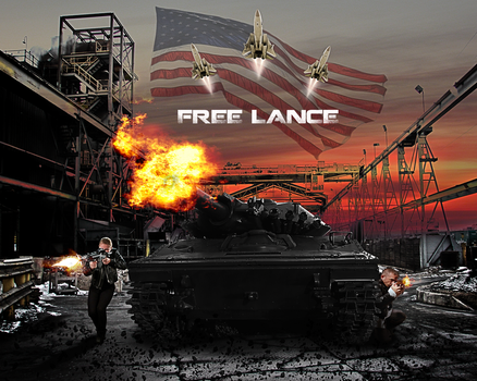 Free Lance Poster 2 by Oj4breakfast