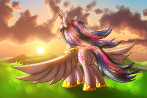 Eternity [MLP Twilight] by Shad0w-Galaxy