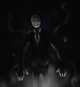 The Slenderman by FuriarossaAndMimma