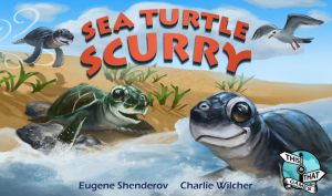 Sea Turtle Scurry by CharlieWilcher
