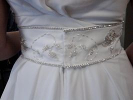 Beaded Wedding Belt:7 by phantomonex