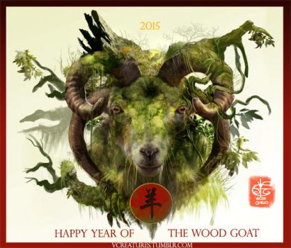 Chinese New Year by Vincent-Covielloart