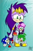 Sonic Babies by SonicFF