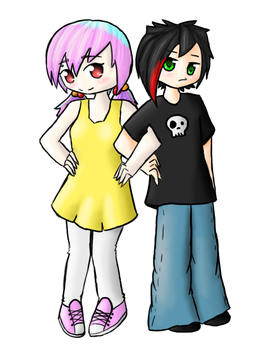 CM - Cara and Neo by YuBit