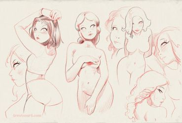 Sketches from my Digital Moleskine by raultrevino