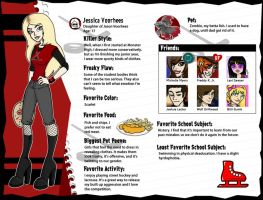Jessica Voorhees Monster Profile by TheDavyJones