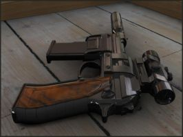 Pistol Concept by Spitty313