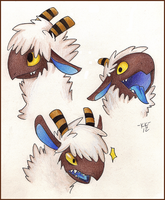 Spoodle heads! by Phoelion