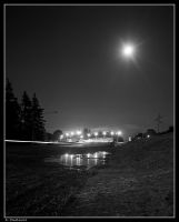 Moonbeams Overpass by six-something
