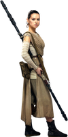 Star Wars VII-Rey PNG by nickelbackloverxoxox