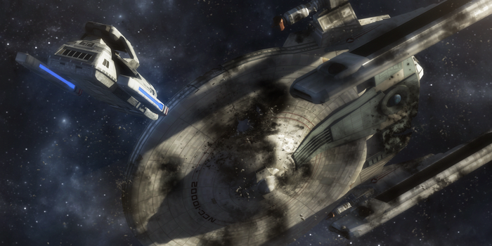 Salvage Operation.. Chin'toka Sector 2374 by StalinDC