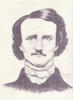 Edgar Allan Poe by PennyHorrible