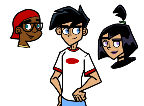 Casually Draws DP Characters by PoisonIVy10