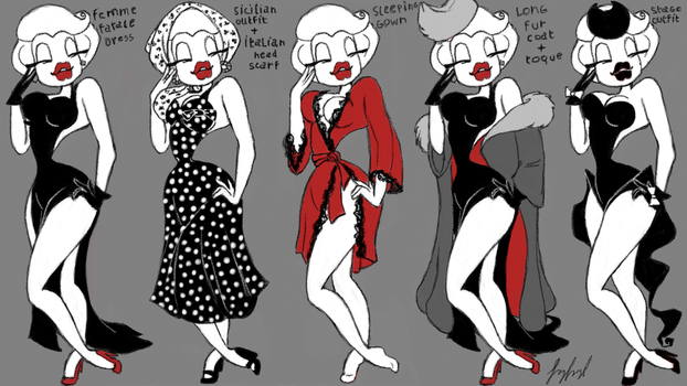 Official costume Dolly in Mafia by fnafmangl